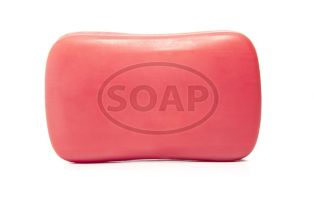 red soap