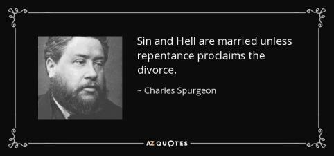 Spurgeon on repentance