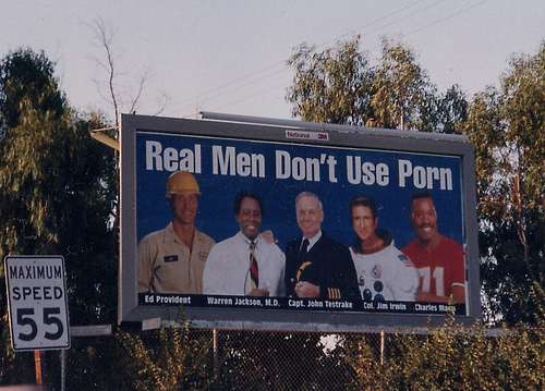 Real men don't use porn Billboard.jpg