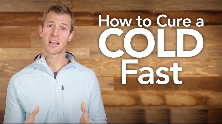 How to Kick a Cold Fast by Dr. Josh Axe