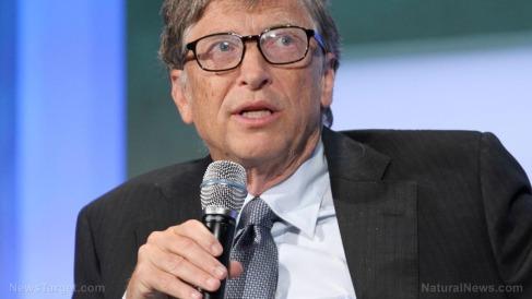 Editorial-Use-Bill-Gates-Microphone